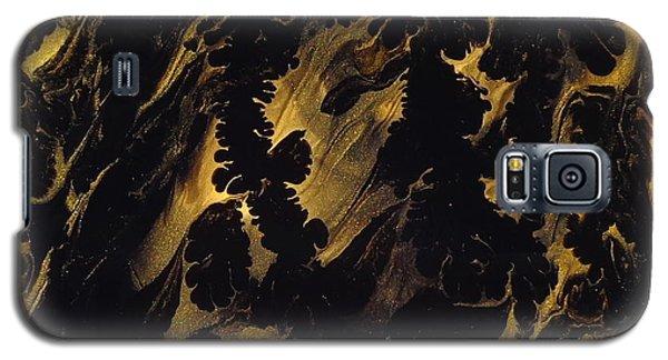 Golden Swirls Galaxy S5 Case