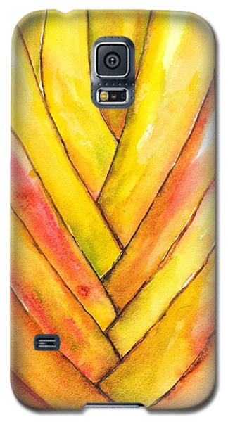 Golden Travelers Palm Trunk Galaxy S5 Case