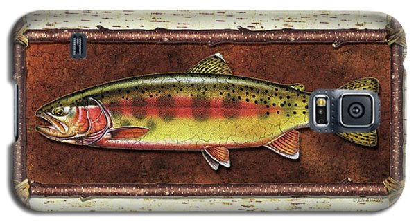 Trout Galaxy S5 Case - Golden Trout Lodge by JQ Licensing
