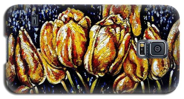 Golden Tulips Galaxy S5 Case