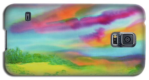 Galaxy S5 Case featuring the painting Escape From Reality by Susan D Moody