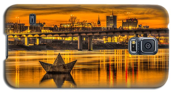 Golden Vistula Galaxy S5 Case