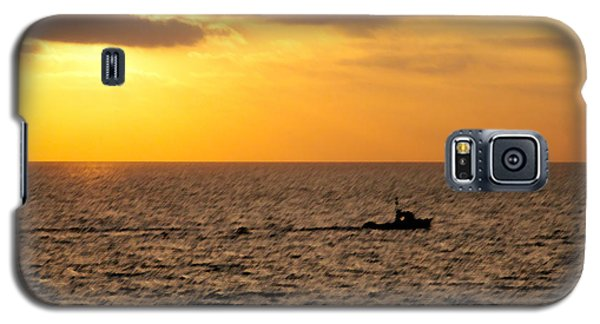 Galaxy S5 Case featuring the photograph Golden Voyage by Christopher Woods
