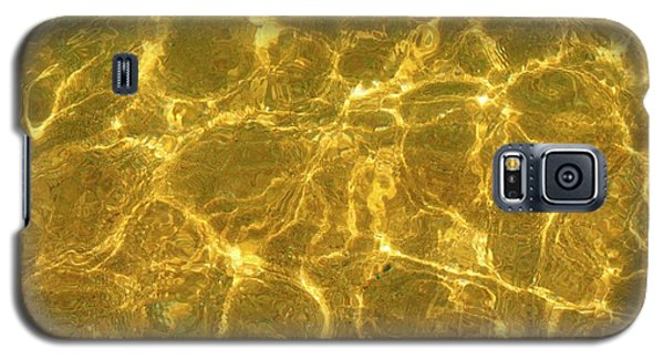Golden Wave Galaxy S5 Case