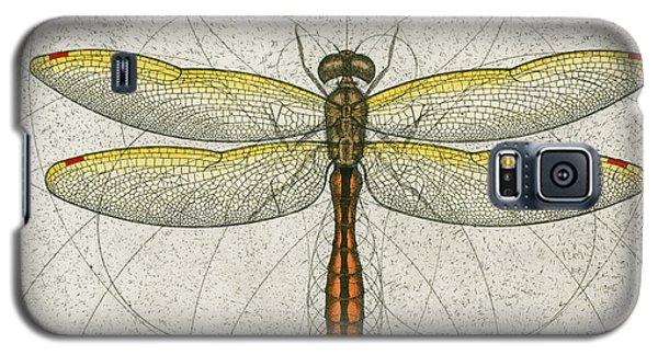 Golden Winged Skimmer Galaxy S5 Case