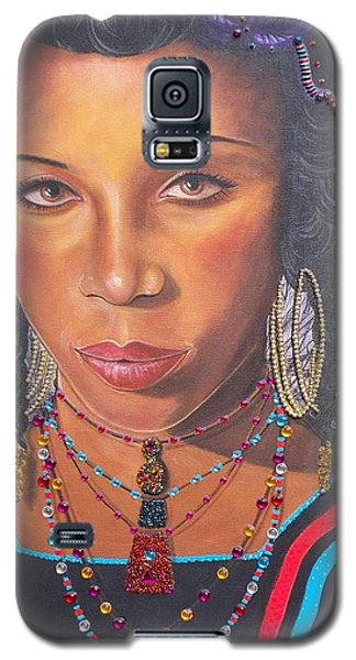 Gracious Golden Wodaabe Girl           From The Attitude Girls  Galaxy S5 Case