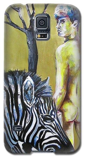 Golden Zebra High Noon Galaxy S5 Case
