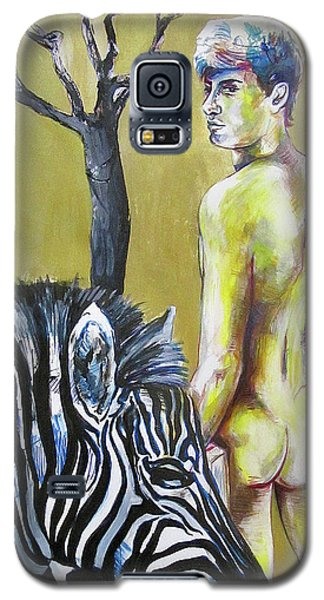 Golden Zebra High Noon Galaxy S5 Case