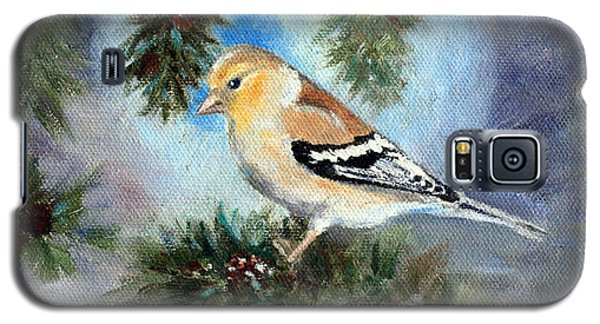 Goldfinch In A Tree Galaxy S5 Case