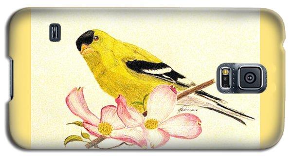 Goldfinch Spring Galaxy S5 Case
