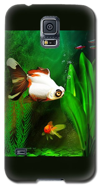 Goldfish Aquarium Galaxy S5 Case by John Wills