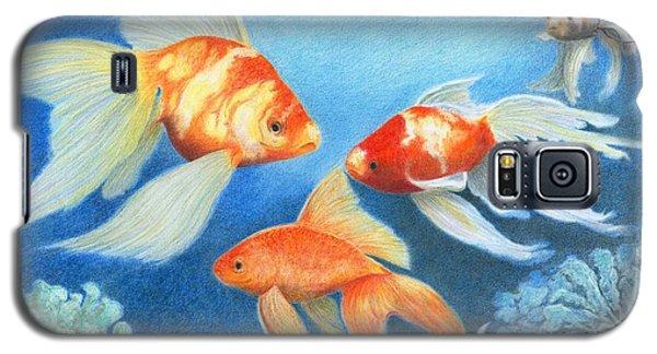 Goldfish Tank Galaxy S5 Case