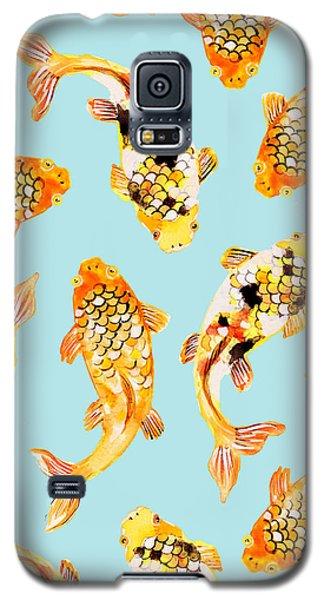 Goldfish Galaxy S5 Case by Uma Gokhale