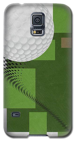 Golf Art Par 4 Galaxy S5 Case