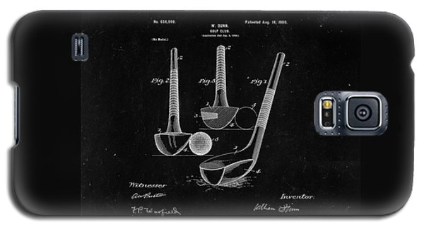 Sport Art Galaxy S5 Case - Golf Club From 1900 - Black by Delphimages Photo Creations