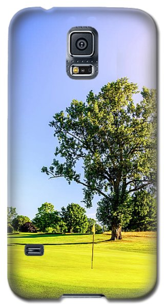 Galaxy S5 Case featuring the photograph Golf Course by Alexey Stiop