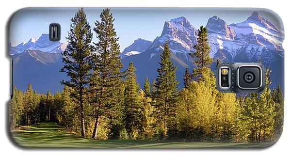 Silvertip Golf Course Galaxy S5 Case