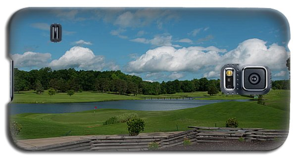 Golf Course The Back 9 Galaxy S5 Case by Chris Flees