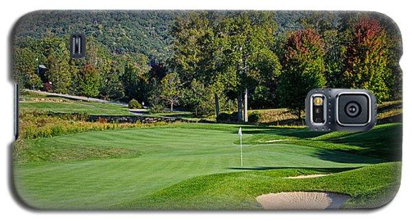 Early Autumn Golf Galaxy S5 Case