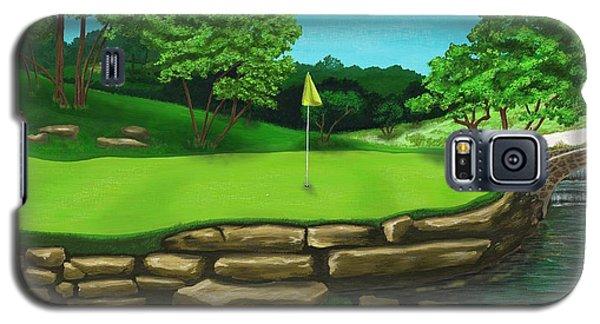 Golf Green Hole 16 Galaxy S5 Case