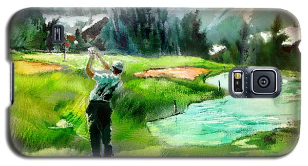 Golf In Crans Sur Sierre Switzerland 01 Galaxy S5 Case