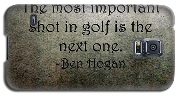 Golf Quote Galaxy S5 Case