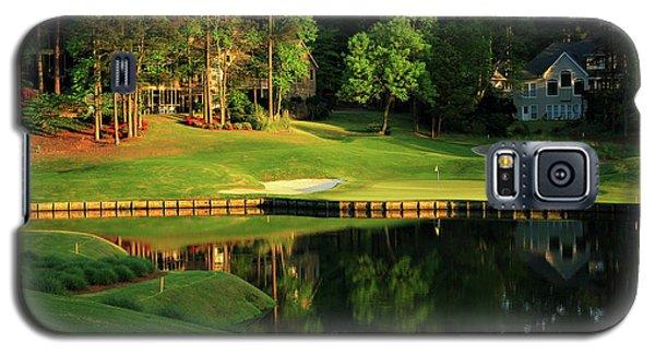 Golf The Landing #3 Reynolds Plantation Lake Oconee Ga Art Galaxy S5 Case