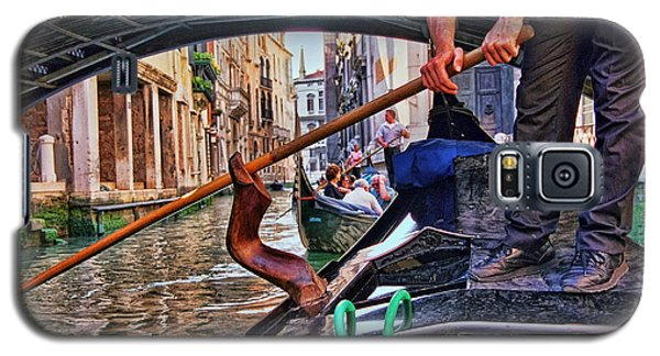 Galaxy S5 Case featuring the photograph Gondola 2 by Allen Beatty