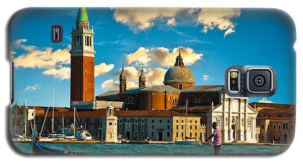 Gondola And San Giorgio Maggiore Galaxy S5 Case