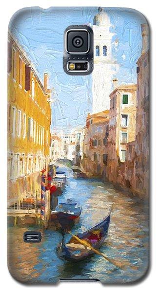 Gondola E Campanile Galaxy S5 Case by Jack Torcello