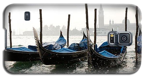 Gondole In Bacino 2078 Galaxy S5 Case by Marco Missiaja