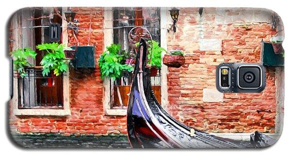 Gondola In Venice Galaxy S5 Case