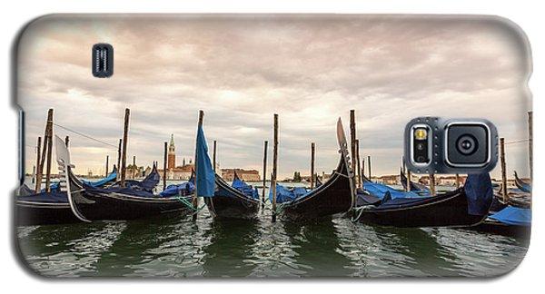 Gondolas In Venice Galaxy S5 Case by Melanie Alexandra Price