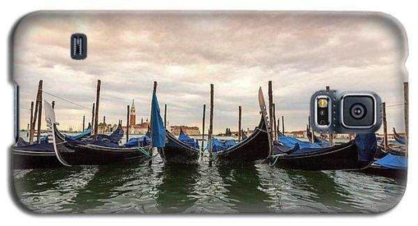 Gondolas In Venice, Italy Galaxy S5 Case
