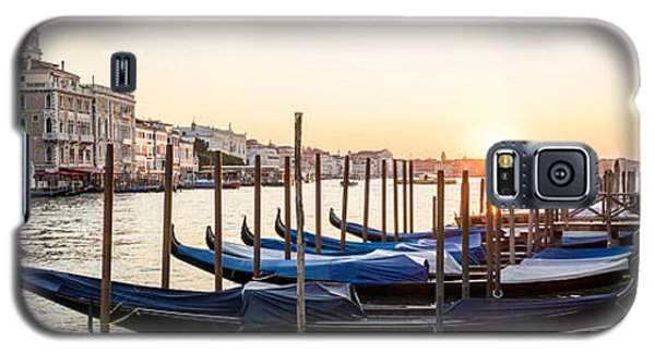 Gondolas Sunrise 00323 Galaxy S5 Case