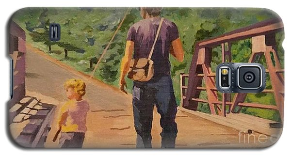 Gone Fishing With Dad Galaxy S5 Case