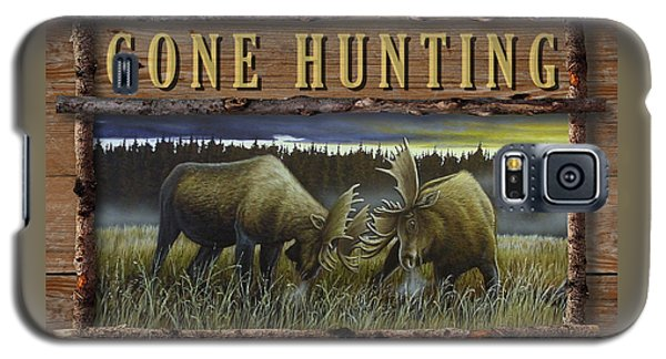 Gone Hunting - Locked At Lac Seul Galaxy S5 Case