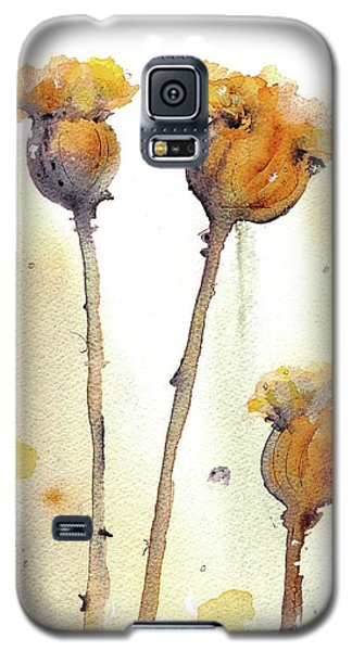 Galaxy S5 Case featuring the painting Gone To Seed by Dawn Derman