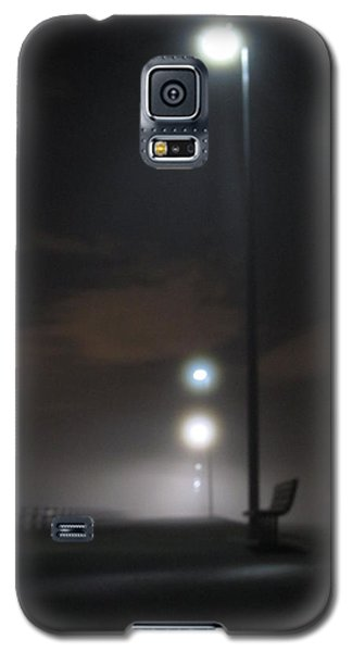 Galaxy S5 Case featuring the photograph Gone To The Mist by Digital Art Cafe