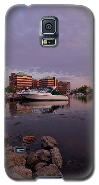 Galaxy S5 Case featuring the photograph Good Morning Harbor by Joel Witmeyer