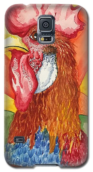 Galaxy S5 Case featuring the painting Good Morning by Jame Hayes