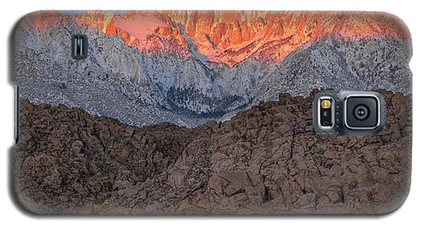 Good Morning Mount Whitney Galaxy S5 Case