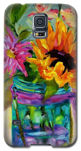 Galaxy S5 Case featuring the painting Good Morning Sunshine by Chris Brandley