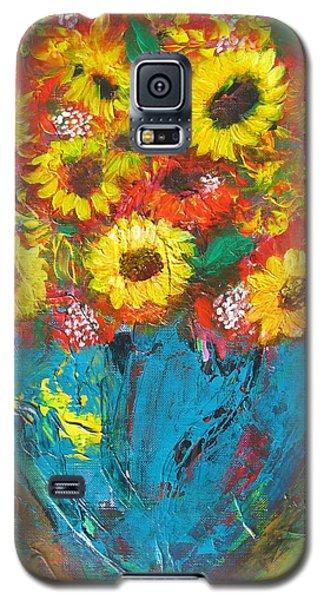 Good Morning Sunshine Galaxy S5 Case by Maria Watt