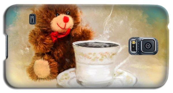 Good Morning Teddy Galaxy S5 Case by Mary Timman