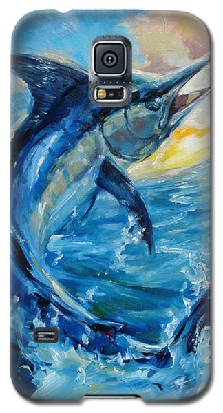 Swordfish Galaxy S5 Case - Good Morning by Tom Dauria