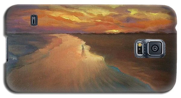 Galaxy S5 Case featuring the painting Good Night by Alla Parsons