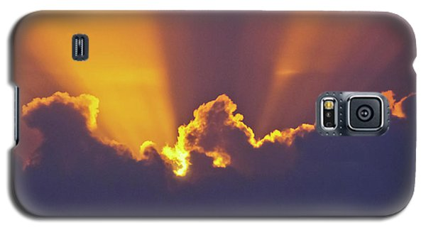 Galaxy S5 Case featuring the photograph Good Night Sunshine by Terri Waters