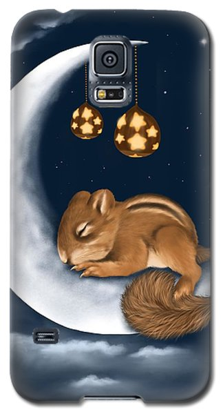 Galaxy S5 Case featuring the painting Good Night by Veronica Minozzi
