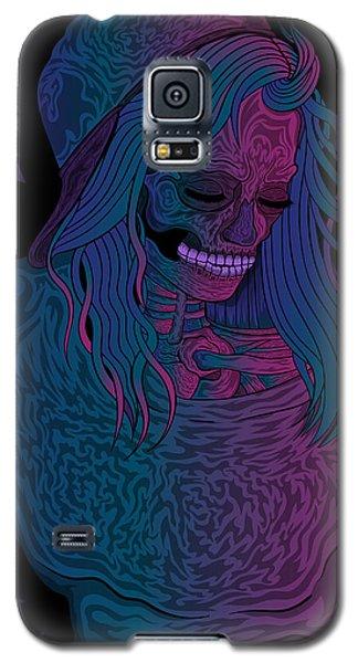 Good Vibes Skelegirl Galaxy S5 Case